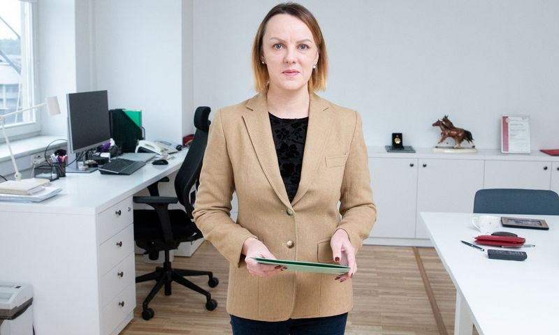 Inga Balnanosienė, Užimtumo tarnybos direktorė. Juditos Grigelytės (VŽ) nuotr.