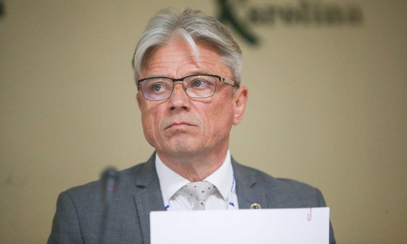 Erlandas Mikėnas, Lietuvos mažų ir vidutinių vežėjų konfederacijos prezidentas. Vladimiro Ivanovo (VŽ) nuotr.