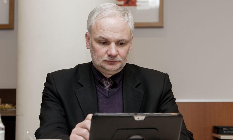 """Saulius Žilinskas, """"Creditreform Lietuvos"""" direktorius. Juditos Grigelytės (VŽ) nuotr."""