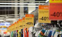 Metinė infliacija pagal SVKI sudarė 0,4%