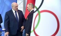Tarptautinis olimpinis komitetas nepripažino A. Lukašenkos sūnaus