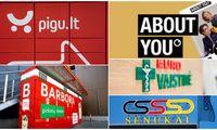 """E. prekybos trejetas reklamoje: """"Pigu"""", """"Barbora"""" ir """"About You"""""""