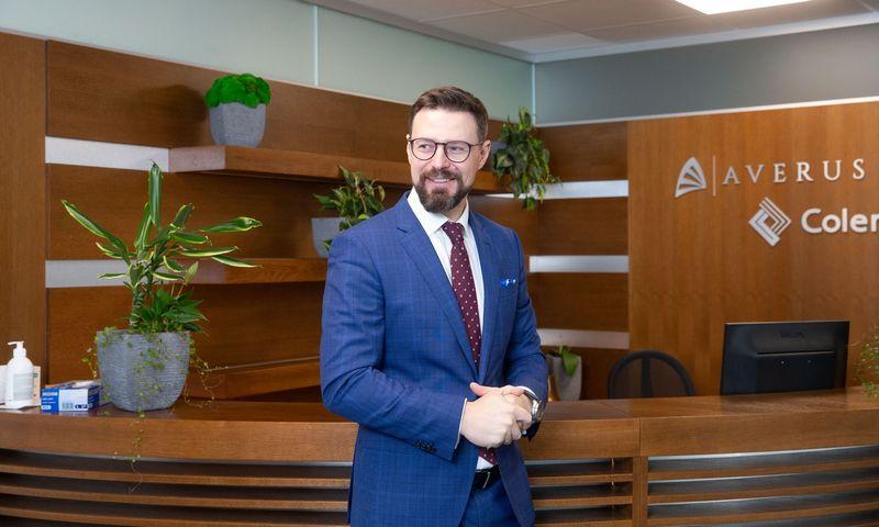 """Giedrius Čiurinskas, UADBB """"Colemont draudimo brokeris"""" vykdomasis direktorius. Juditos Grigelytės (VŽ) nuotr."""