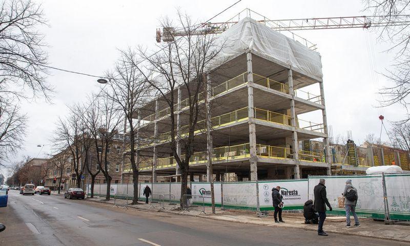 Vadovybės apsaugos tarnybos biuro statybos. Juditos Grigelytės (VŽ) nuotr.