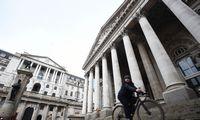 Anglijos centrinis bankas kurso nekeičia