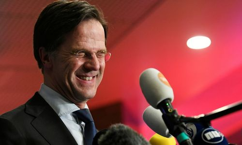 Nyderlandų parlamento rinkimus laimėjo premjero M. Rutte partija