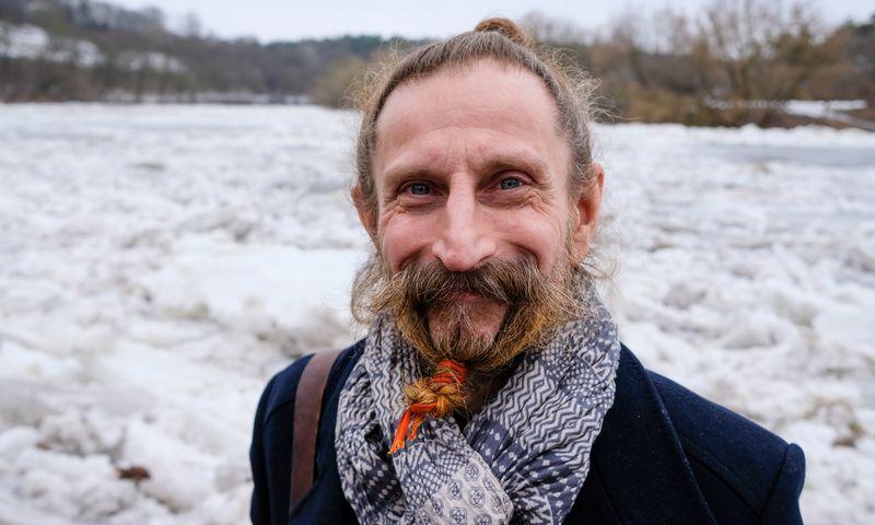 Gintautas Švedas, informacinių technologijų įmonės SATI vadovas, speleologas. Vladimiro Ivanovo (VŽ) nuotr.