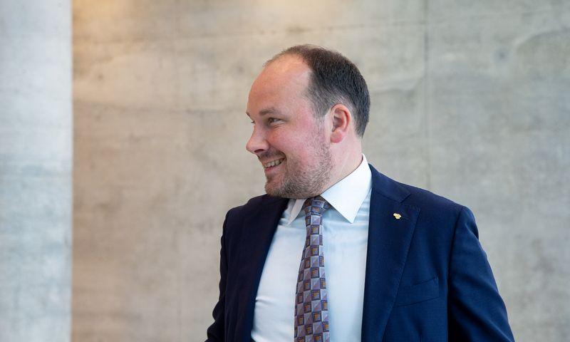 """Žygimantas Mauricas, """"Luminor"""" vyriausiasis ekonomistas. Juditos Grigelytės (VŽ) nuotr."""
