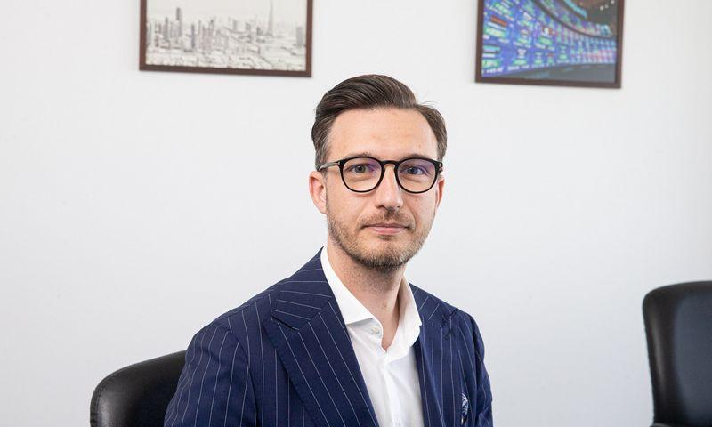 """Artūras Milevskis, UAB """"Synergy Finance"""" Investicijų valdymo skyriaus vadovas. Juditos Grigelytės (VŽ) nuotr."""