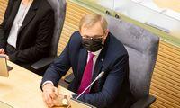 Seimas pritarė A. Valantino atleidimui iš Apeliacinio teismo vadovo pareigų