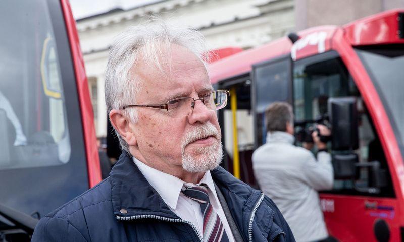 """Rimantas Markauskas, UAB """"Vilniaus viešasis transportas"""" vadovas. Juditos Grigelytės (VŽ) nuotr."""
