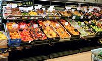 D. Dundulis: dabar esu patenkintas mūsų šviežių daržovių skyriais