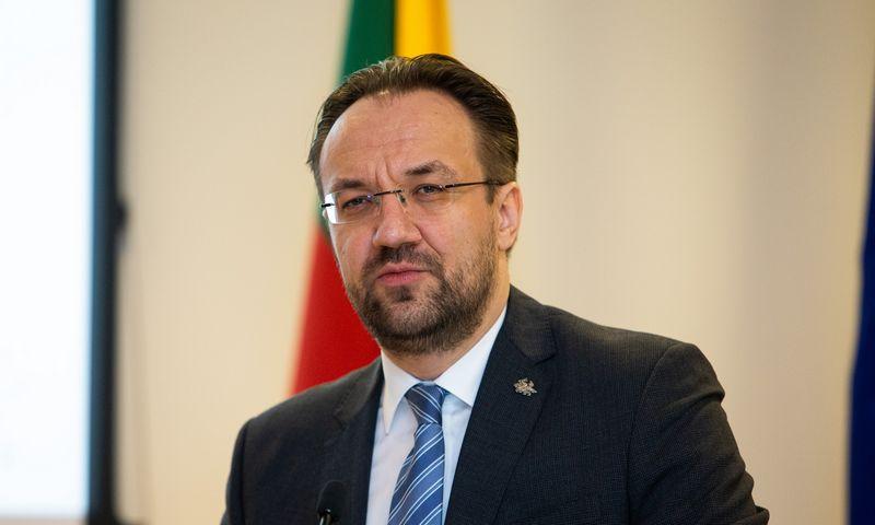 Gediminas Šimkus, kandidatas į Lietuvos banko valdybos pirmininkus. Vladimiro Ivanovo (VŽ) nuotr.