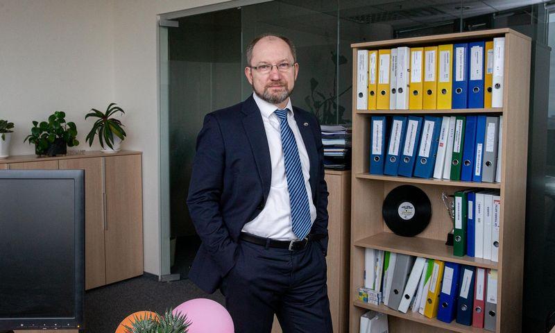 """Kęstutis Motiejūnas, UAB """"Investicijų ir verslo garantijos"""" generalinis direktorius. Juditos Grigelytės (VŽ) nuotr."""