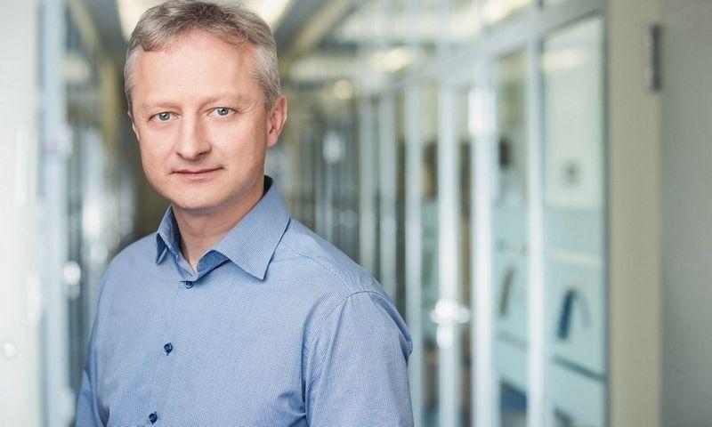 """""""Blue Bridge"""" Duomenų centrų infrastruktūros skyriaus vadovas Miroslav Chvoinicki."""