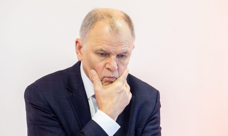 """Vytenis Povilas Andriukaitis: """"ES programas kuruojantys Lietuvos pareigūnai į reikalus žiūri biurokratiškai."""" Judita Grigelytė (VŽ)"""