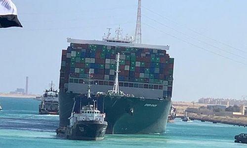 Sueco kanalas išlaisvintas, atnaujinama laivyba