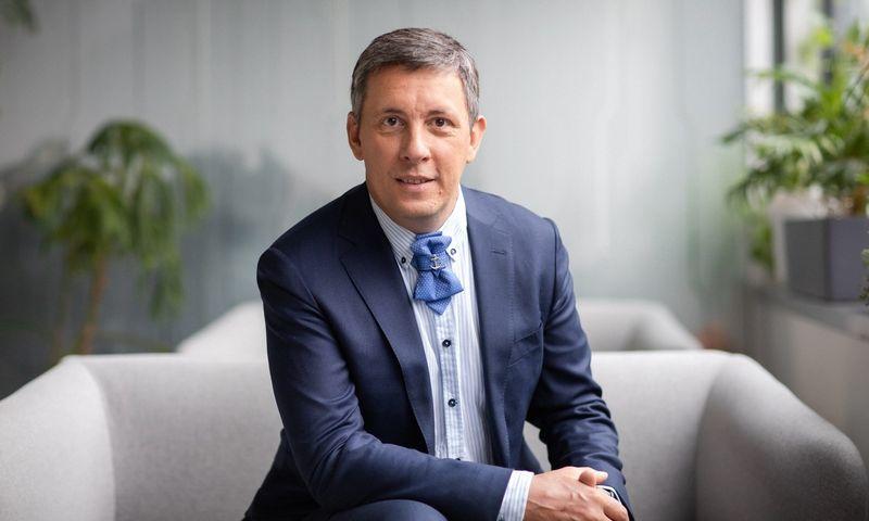 """""""Novian Technologies"""" pardavimų direktorius Artūras Milašauskas."""