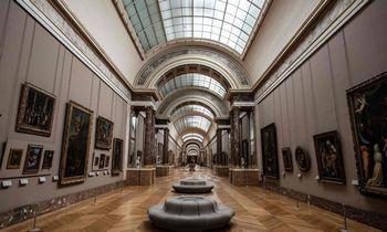 Luvro muziejus virtualiai pristato visą savo kolekciją