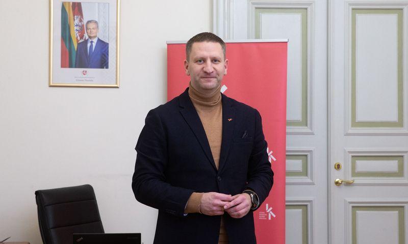 Kultūros ministras Simonas Kairys. Vladimiro Ivanovo (VŽ) nuotr.