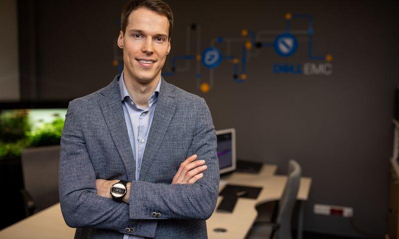 """Tomas Kirchovas, UAB """"GoIT"""" bendraturtis, direktorius: """"Blogiausia yra tada, kai garsiai pasiskelbiama, kad įmonė žengia į naują etapą, kad pasikeitė prekės ženklas, bet IT funkcijos 3–4 mėnesius stringa."""" Įmonės nuotr."""