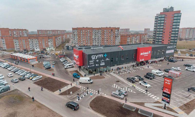 Naujas prekybos centras Klaipėdoje. Bendrovės nuotr.