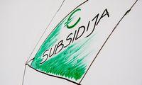 """Subsidjų """"lubas"""" pakėlė iki 350.000 Eur, slenkstį nuleido iki 50% apyvartos kritimo"""