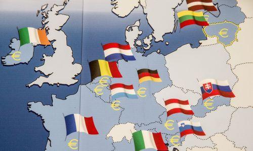 Kovą iki 1,3% pašoko infliacija euro zonoje