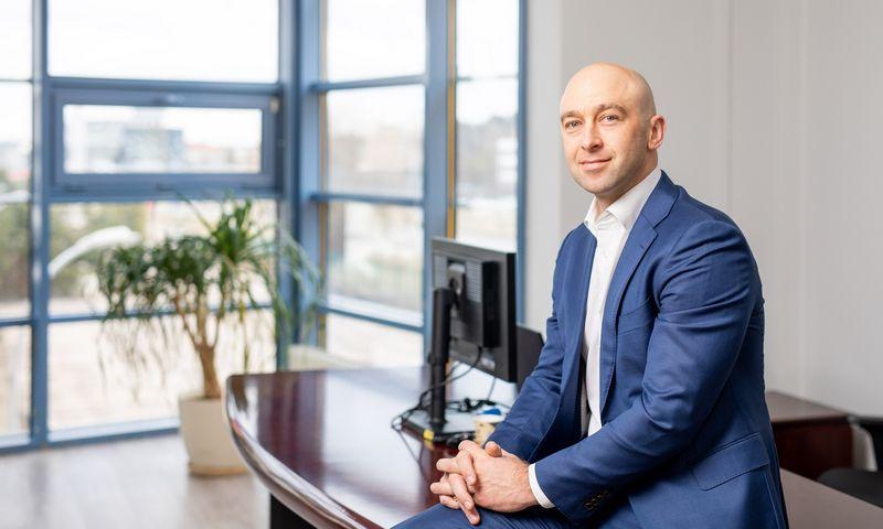 "Martynas Čereška, UAB ""Elgama-Elektronika"" vadovas. Bendrovės nuotr."