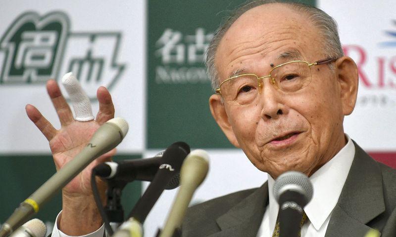 """Isamu Akasaki, vienas iš LED išradėjų. Toru Yamanaka (""""Scanpix"""" / AFP) nuotr."""