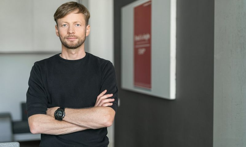 """Tomas Balžekas, UAB """"Mano daktaras"""" vadovas. Gedmanto Kropio (Fotobankas) nuotr."""