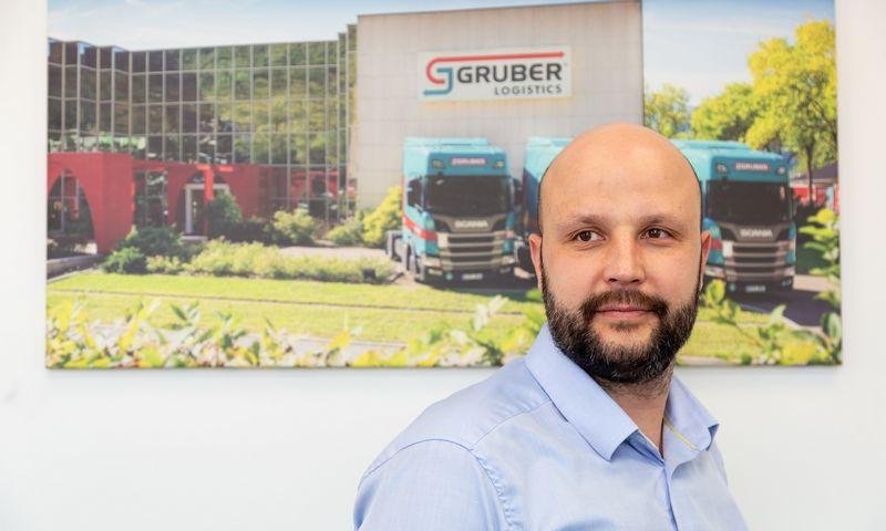"""Deividas Narbutaitis, """"Gruber Logistics"""" generalinis direktorius. Vladimiro Ivanovo (VŽ) nuotr."""