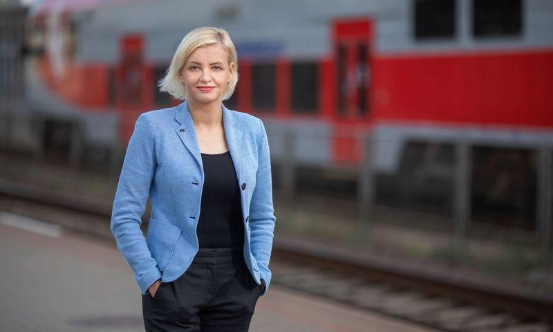 """Daiva Pivoriūnienė, """"Lietuvos geležinkelių"""" Turto valdymo paslaugų centro direktorė. Bendrovės nuotr."""