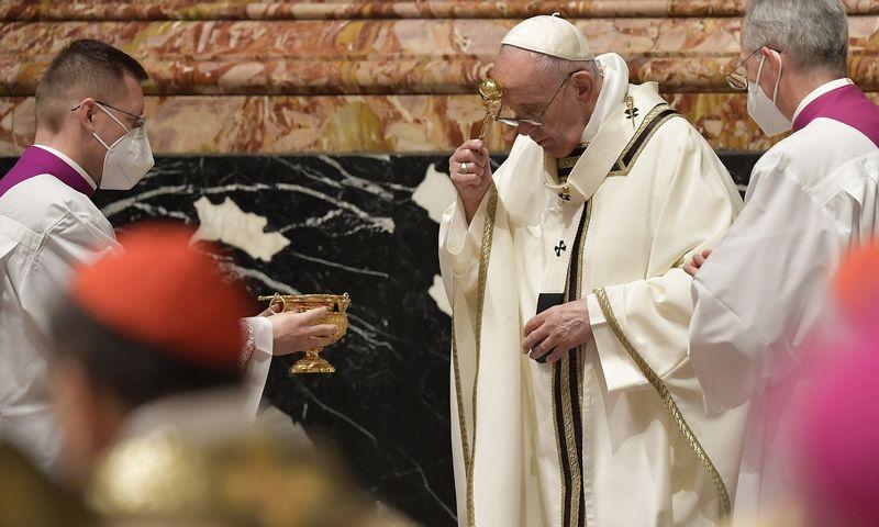 """""""Vatican Media"""" / CPP / IPA / """"Scanpix"""" nuotr."""