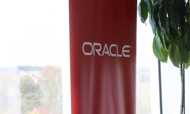 Oracle Logotipas. Vladimiro Ivanovo (VŽ) nuotr.