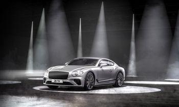 """Naujasis """"Continental GT Speed"""": dinamiškiausias kūrinys """"Bentley"""" istorijoje"""