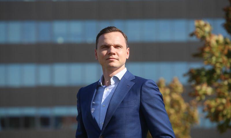 """Nuo balandžio 7 d. """"Aprangos"""" grupės finansų ir ekonomikos direktorius tampa Gabrielius Morkūnas. Vladimiro Ivanovo (VŽ) nuotr."""