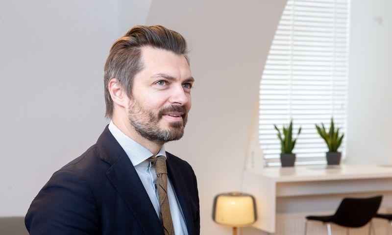 Margiris Abukevičius, Krašto apsaugos viceministras. Juditos Grigelytės (VŽ) nuotr.