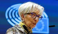 Ch. Lagarde: ilgesnio laikotarpio rizikos euro zonoje mažėja