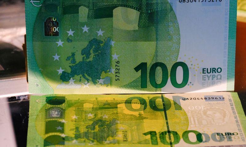 Euras – bendra Europos Sąjungos šalių valiuta. Vladimiro Ivanovo (VŽ) nuotr.