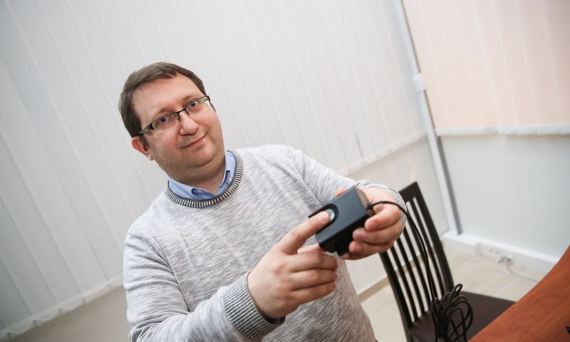 """Irmantas Naujikas, aukštųjų technologijų UAB """"Neurotechnology"""" direktorius. Vladimiro Ivanovo (VŽ) nuotr."""
