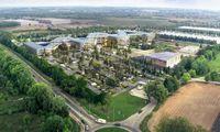 """""""Girteka"""" koreguoja planus dėl centrinės būstinės miestelio"""