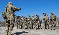 JAV perspėja apie pasekmes, jeigu Rusija elgsis agresyviai Ukrainoje