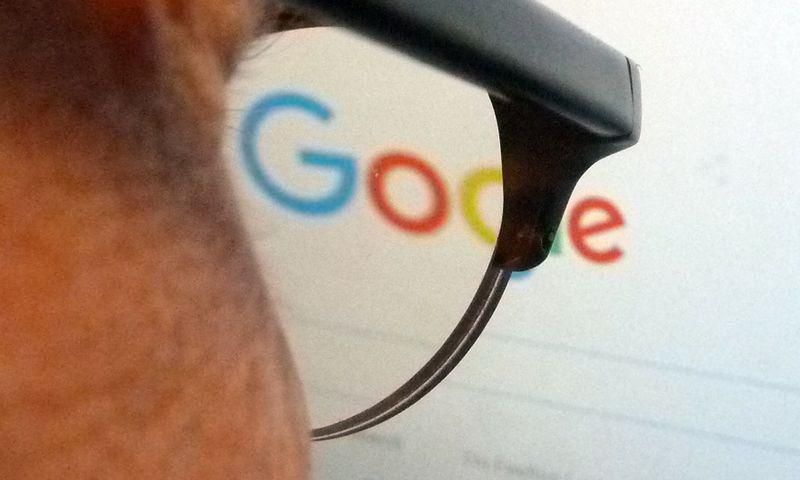 """Google"" logotipas (Eva Hambach-AFP-Scanpix.) nuotr."