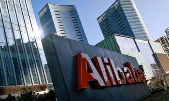 """""""Alibaba"""" akcijos pabrango įmonei pareiškus, kadbauda neturės įtakosveiklai"""