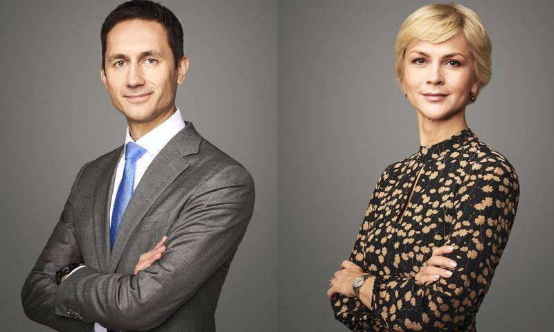 """""""Glimstedt"""" asocijuotasis partneris, advokatas Audrius Žvybas ir """"Glimstedt"""" vadovaujančioji partnerė, advokatė Prof. Dr. Solveiga Palevičienė"""