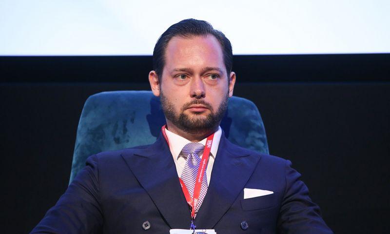 """Gediminas Baltakis, investicijų bendrovės """"Investicijų valdymas Prosperus"""" vadovas. Vladimiro Ivanovo (VŽ) nuotr."""