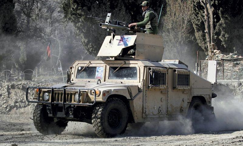 "JAV kariai Afganistane. ""Scanpix"" (""Reuters"") nuotr."