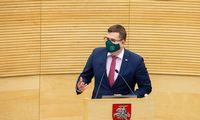 Seime – suvaržymai įmonėms, susijusioms su Astravo AE