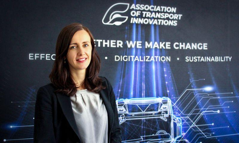 Rugilė Andziukevičiūtė-Buzė, naujoji TIA direktorė. Asociacijos nuotr.
